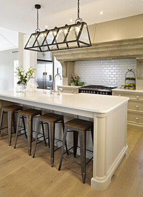 The gourmet kitchen company bespoke handcrafted kitchens for Country style kitchen nz
