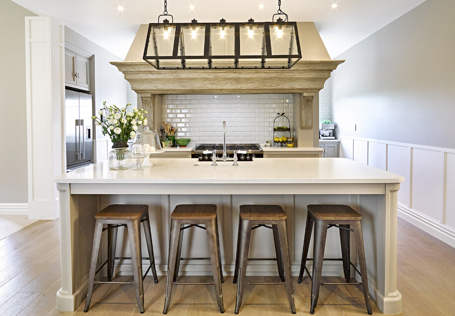 Farmhouse traditional kitchen